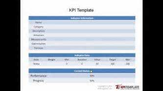Kpi Format Template by Ready To Use Kpi Templates