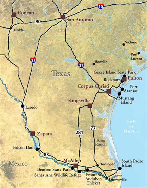 king ranch texas map vent birding tours in south texas