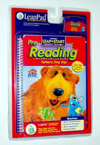 Leapfrog Leappad Learning Center Interactive Book Cartridge Phonic tutter s tiny trip leappad interactive book and cartridge pre reading preschool k up to age