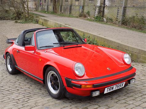 porsche old red classic chrome porsche 911 sc 3 0 targa 1982 x red