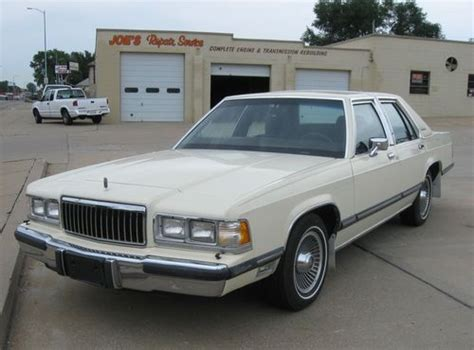 purchase used 1989 mercury grand marquis all original 59k very clean excellent condition in