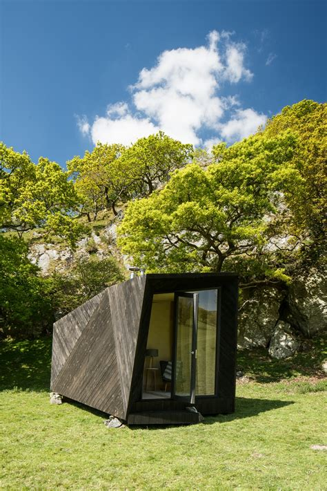 Arthurs Cabin by Arthur S Cave Pop Up Hotel Cabin At Castell Y Bere Wales