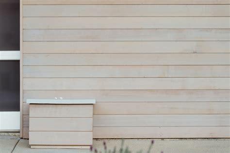 light gray stain  cedar siding midcentury exterior