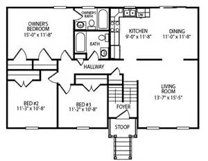 28 X 40 House Plans Liberty J A Myers Homes