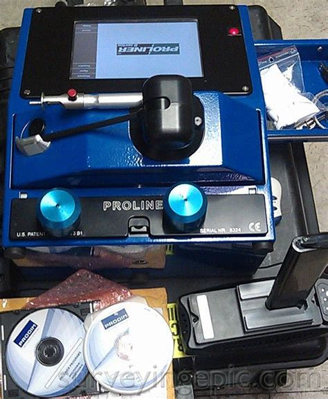 Used Proliner 8 3d Digital Templating System Digital Templating Systems