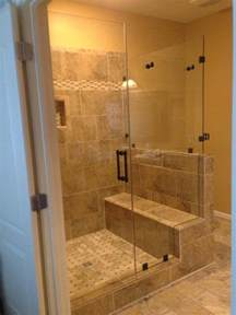 frameless glass shower door photo gallery precision glass earth tone bathroom designs tsc