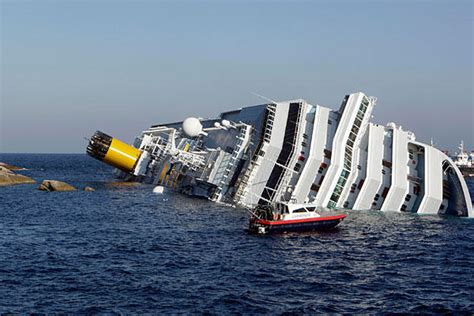 Sink Ships by Seen Technology Cruise Ship Sink In Italy Deaths In