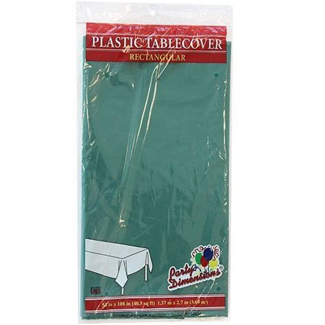 amazon plastic table cloths amazon com green plastic tablecloth 8 pack