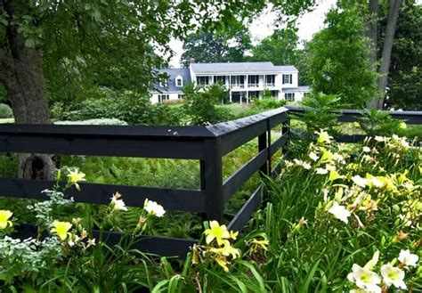 fence ideas for large yard front yard fence ideas landscaping network