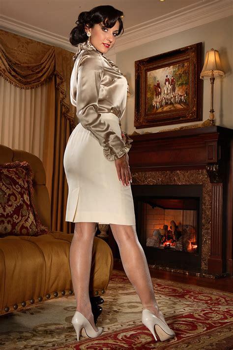 Secret Chanel N Slip pin by iris on satin clothes satin blouses
