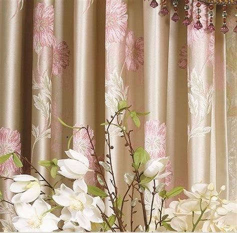 silk drapes with blackout liner iyuegou art deco jacquard faux silk multi floral grommet