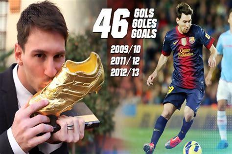 Sepatu Bola Lionel Messi sepatu emas lionel messi samai cristiano ronaldo baca