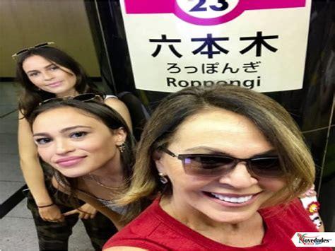 hijas de maria elena salinas mar 237 a elena salinas celebra con sus hijas su salida de