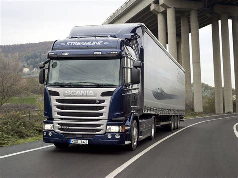 scania streamline saving up to 8 percent of fuel in