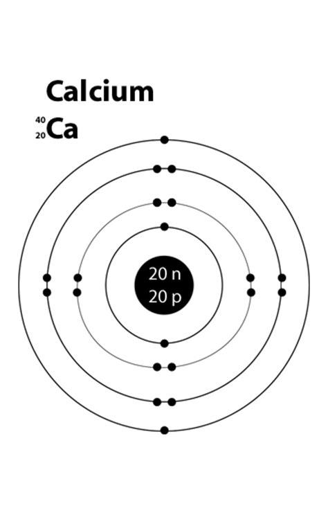 bohr diagram for calcium science november 2011
