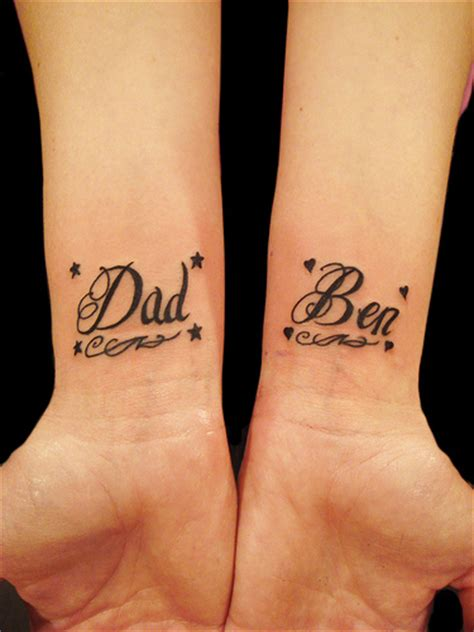wrist tattoo writing dewo lettering