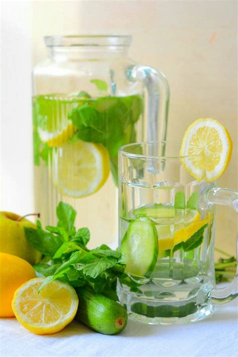 Cucumber Lemon Detox Water Recipe by Lemon Cucumber Detox Water Recipe By Archana S Kitchen