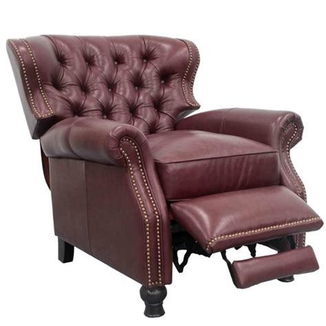 barcalounger presidential leather recliner barcalounger presidential leather recliner reviews wayfair