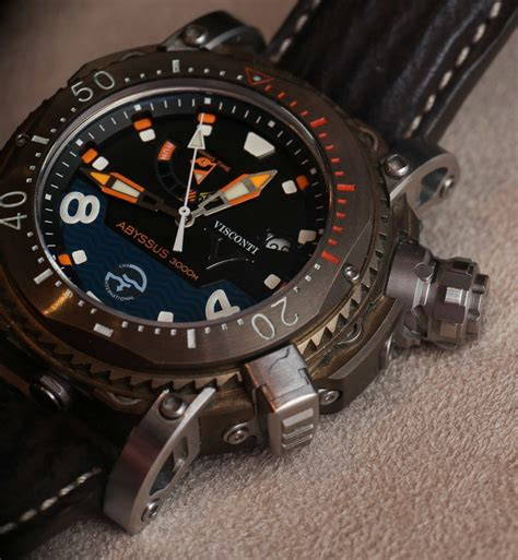 visconti abyssus scuba 3000m dive watches on page