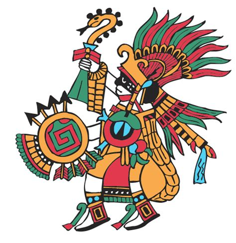 imagenes de dioses aztecas huitzilopochtli hummingbird of the south god of war