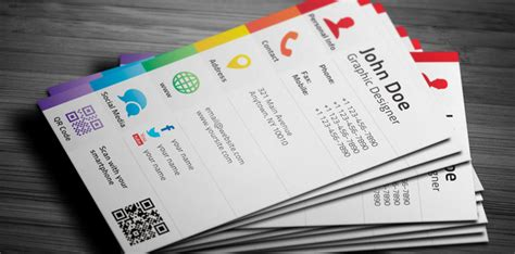 Social Media Business Card Template Free by Business Cards With Social Media Icons Fragmat Info