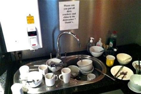 Office Kitchen Sink Is There A Fridge Fascist In Your Office By Andrew Webb