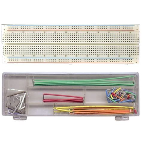 circuit breadboard kit breadboard 830 holes with wiring kit 70 pcs
