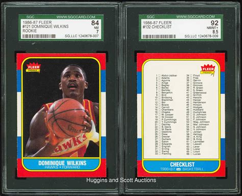 86 87 Fleer Basketball Card Template Photoshop by 1986 87 Fleer Basketball Complete Set With Stickers