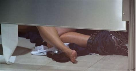 Sex in school bathroom stall