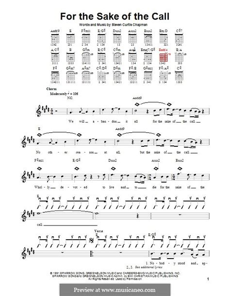 strumming pattern call you home for the sake of the call by s c chapman sheet music on