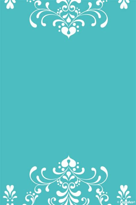 turquoise tiffany blue pattern edge iphone phone wallpaper
