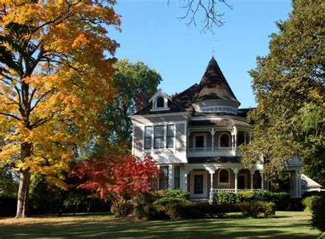 fall house the settlemier house a mansion in woodburn or