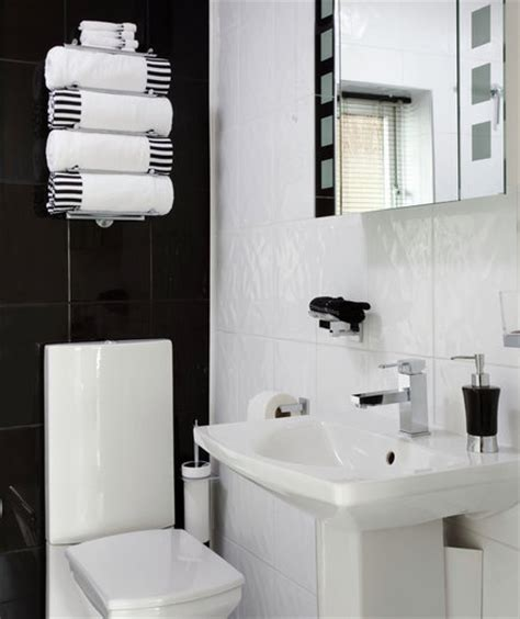 small bathroom ideas black and white modern family 15 great bathroom design ideas real simple