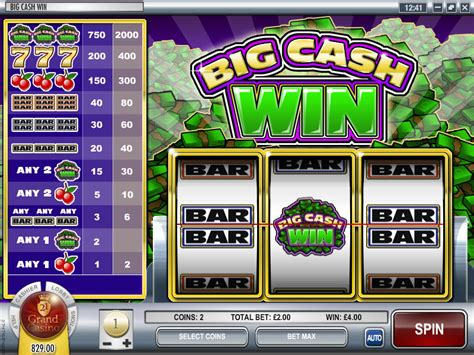Win Money Slots - big cash win slot review bonuses usa rival casinos