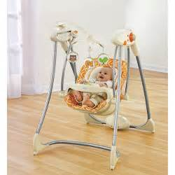 Baby Swings On Sale Fisher Price Swing N Glider Dreamsicle Walmart