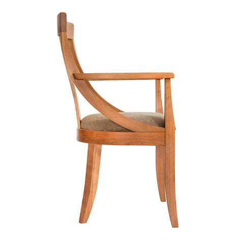 Rounded Dining Chairs Back Dining Chair Vermont Woods Studios