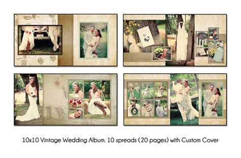 a new wedding album that combines matted and flushmount pages
