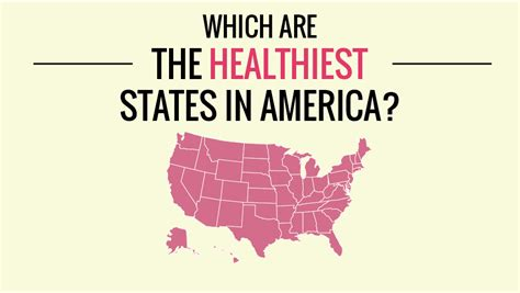 healthiest states in america the healthiest states in the usa infographic