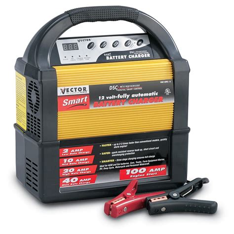 Smart Charger 21 A 1 2 10 20 40 vector 174 smart charger with 100 engine start 10373 chargers jump