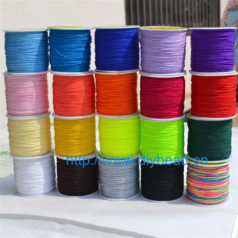 Macrame Material - 20 colors 20m cord thread knot macrame cord