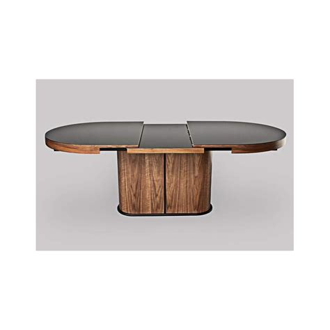 extendable dining table glass bespoke oval extendable dining table with glass top