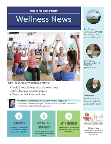 Buzzworthy Fitness And Health News by The Works Health Club Works Wellness Newsletter