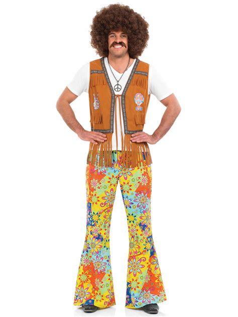 Adult Mens 60's Hippie Fringed Waistcoat   FS3332   Fancy