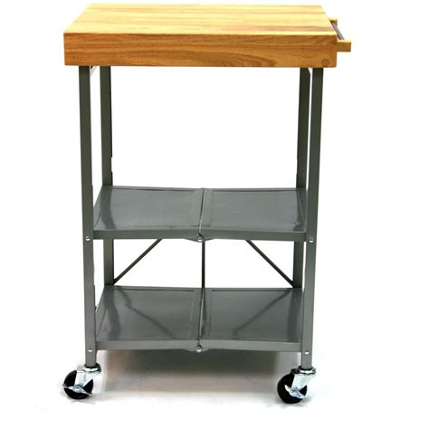 Origami Folding Kitchen Island Cart - origami 174 folding kitchen island cart 224145 kitchen
