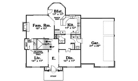 american house floor plan mead plains early american home plan 026d 1772 house