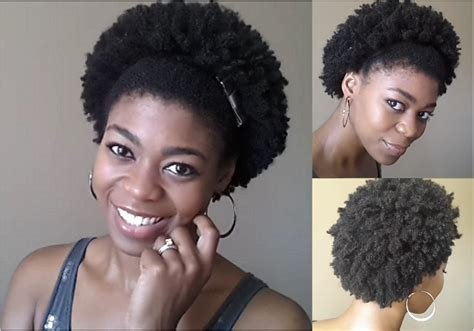 4d natural hair how i stretch my true wash go into a larger fro
