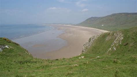 Rhossili Bay Cottages by Rhossili Bay And The Cottage Which And Now