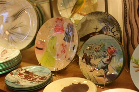 how to decoupage a glass plate tutorial