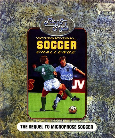 international soccer challenge atari st international soccer challenge scans dump