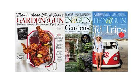 Garden And Gun Current Issue 1 Year 6 Issue Subscription To Garden Gun Magazine